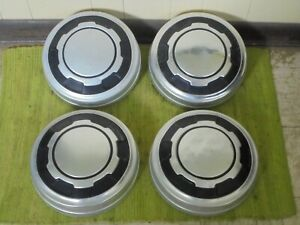 78 84 Ford Truck Set Of 4 Dog Dish 12 Hubcaps Pickup 3 4 1 Ton F250 F350 16