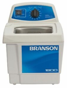 Branson Ultrasonic Cleaner 0 5 Gal Tank Timer Range 0 To 99 Min Continuous