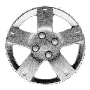 Oem Reconditioned 14 Inch Silver Hubcap Wheel Cover 5 Spokes Painted 3250