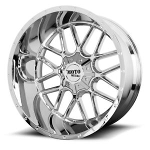 20 Inch Chrome Wheels Rims Chevy 5 Lug Truck Jeep Wrangler Jk Jl Sahara Rubicon