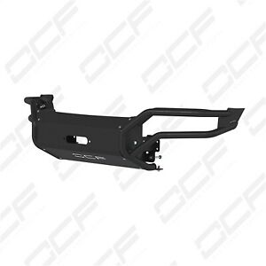 Mbrp Exhaust 183099 Full Width Winch Bumper Fits 16 18 Tacoma