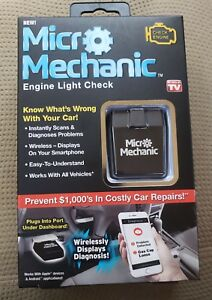 As Seen On Tv Micro Mechanic Obd Bluetooth Check Engine Light Diagnostic Tool