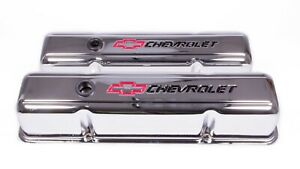 Proform Steel Tall Valve Covers Small Block Chevy P n 141 905