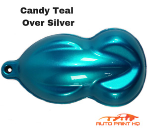 Candy Teal Gallon With Gallon Reducer Candy Midcoat Only Car Auto Paint Kit