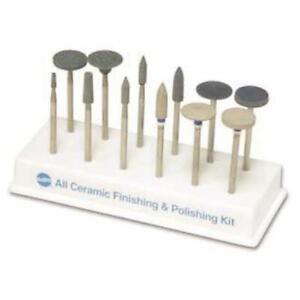 Dental 12 Pc All Ceramic Finsihing Polishing Kit Shofu Hp type 2 By Shofu