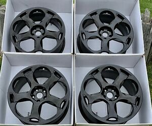 19 Lamborghini Gallardo Factory Oem Wheels Rims Black 2004 2010