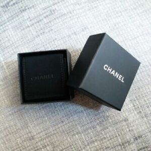 Authentic Chanel Earrings Small Box With Velvet Storage Dust Bag Pouch
