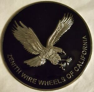 Lowrider Hydraulic Wire Wheel Zenith Black And Chrome Metal Chips
