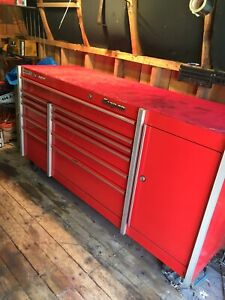 Large 72 1 2 snap on Tool Box