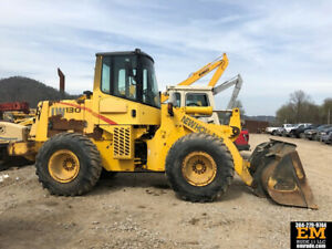 2001 New Holland 130 Articulated Wheel Loader Diesel Rubber Tire Tractor 139 Hp