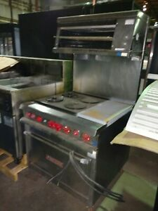 Vulcan 6 Burner Commercial Electric Stove Oven Broiler