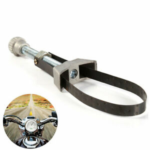 Universal Car Oil Filter Removal Tool Strap Wrench 60 120mm Adjustable Hot Us