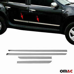 Chrome Side Body Door Protector Trim S steel For Nissan Rogue Sport 2017 2020