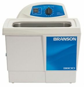 Branson Ultrasonic Cleaner 1 5 Gal Tank Timer Range 0 To 99 Min Continuous