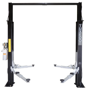 2 Post Lift 9 000 Two Post Lift Tp9kac Tux Economically Priced Save Now