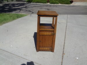 Vintage Mission Oak Nightstand Buy It Now