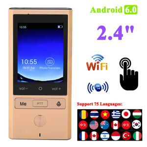 T9 Smart Translator 75 Languages Wifi Gps Android Real Time Offline Translation