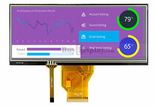 6 5 Inch Touch Screen Bar Type Tft Lcd Display 800x320 For Iot W touch Panel