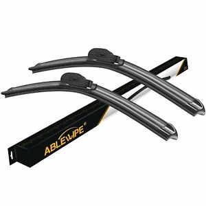 Ablewipe Fit For Ford Fiesta 2016 2010 Windshield Beam Front Wiper Blades 24 16