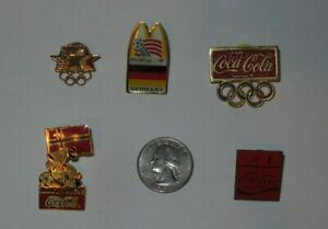 Lot of 5 1994 World Cup McDonalds Metal Pin germany Norway Coca cola olympics