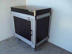 Newport 2 X 3 Optical Breadboard Table Roller Cabinet Bench Casters Wheels