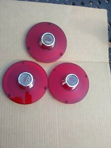 1963 Ford Falcon Taillight Lenses 1962 Fairlane Tail Lamp Back Up Pair Ford