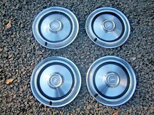 Set Of 4 1975 1976 1977 1978 1979 Plymouth Volare 14 Hub Caps Wheel Covers Look