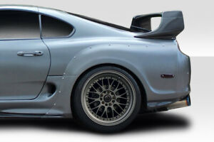 1993 1998 Toyota Supra Duraflex Rd X Wide Body Rear Fender Flares 2 Piece