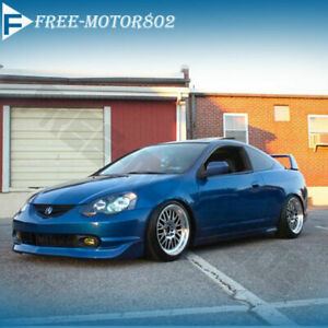 Fit 02 03 04 Acura Rsx Dc5 Mug Style Urethane Front Bumper Lip Spoiler