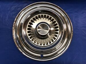 Vintage 1959 Chrysler 14 Hubcap Imperial Good Condition