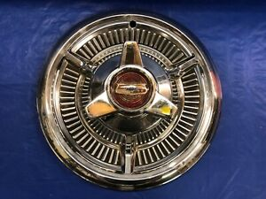 Vintage 1958 Chevrolet 14 Spinner Hubcap Impala Good Condition