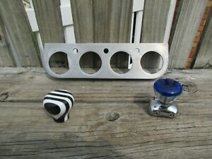1930 s 1950 s Vintage Custom Gauge Panel shiftier Knob steering hot Rat Rod
