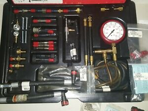 Snap On Master Fuel Injection Pressure Set Eef1500 Free Shipping
