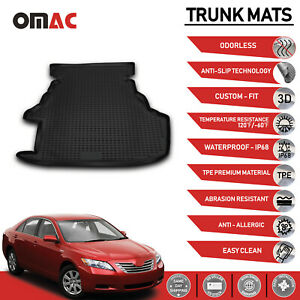 Cargo Liner Cover Trunk Floor Mats Fits Toyota Camry 2007 2011