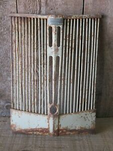 Vintage Tractor Grill Harry Ferguson System Fixer Upper Decor Mancave Decor