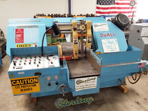 12 X 16 Used Doall Fully Automatic Horizontal Bandsaw C 410a a4564