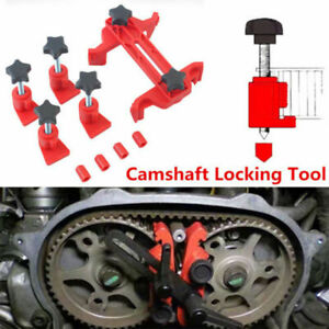 Universal Camshaft Dual Cam Clamp Alignment Timing Belt Gear Locking Tool Holder