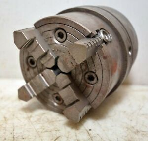Brown And Sharpe No 13 4 Jaw Chuck inv 39414