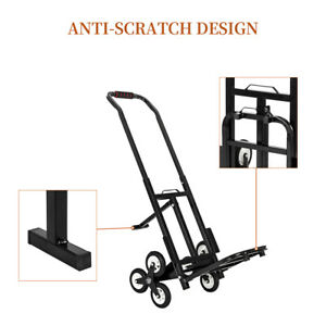 Stair Climbing Cart An All terrain Three wheel Chassis With Folding Hand Cart