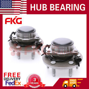 2wd Front Wheel Hub Bearing Assembly For Chevy Gmc Silverado Sierra 515054 X2