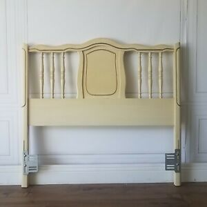 Custom Finish Vintage French Provincial Shabby Chic Country Twin Headboard