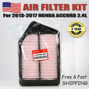 For 2013 2017 Oem Honda Accord Air Filter Cleaner 17220 5a2 A00 Genuine 2 4l
