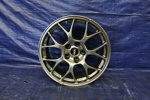 2008 Mitsubishi Lancer Evolution X Mr Oem Wheel 18x8 5 38offset curb Rash 549