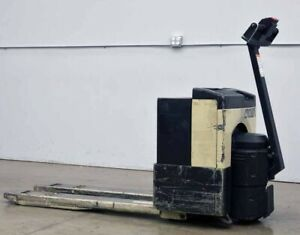 Crown 40gpw 21 3 14 4000lbs Walk behind Electric Powered Pallet Jack Truck 24v