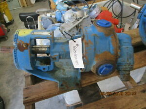 Viking Pump S n 8494930059 2 In out M n K4124b 610829b Used
