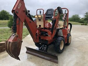Ditch Witch Rt40 Trencher Backhoe Dozer Diesel