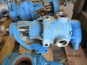 Viking Pump Stainless S n 11250559 2 In out M n K4724 610845b Used