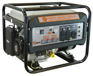 6500w Gas Powered Generator Dirty Hand Tools