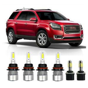6x Car Led Light High low Beam Headlight Bulb Fog Light For Dodge Dakota 98 2000