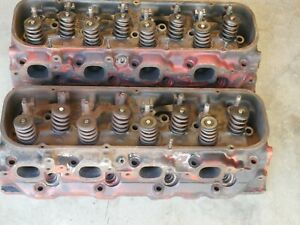Chevy Chevrolet Bbc 454 Cylinder Heads 353049 396 427 L 21 3